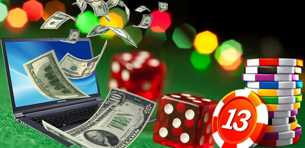 The popularity of online casino games